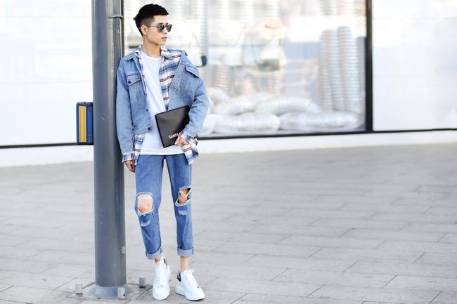Ngắm street style vừa chất vừa vui của giới trẻ Việt, bạn sẽ chẳng muốn diện đồ một cách an toàn nữa - Ảnh 11.