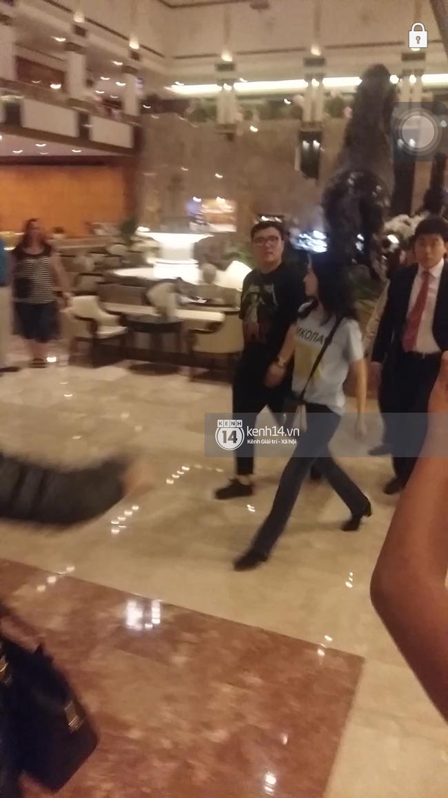 Yoona thay trang phục năng động trở về khách sạn nghỉ ngơi trước khi ra sân bay - Ảnh 6.