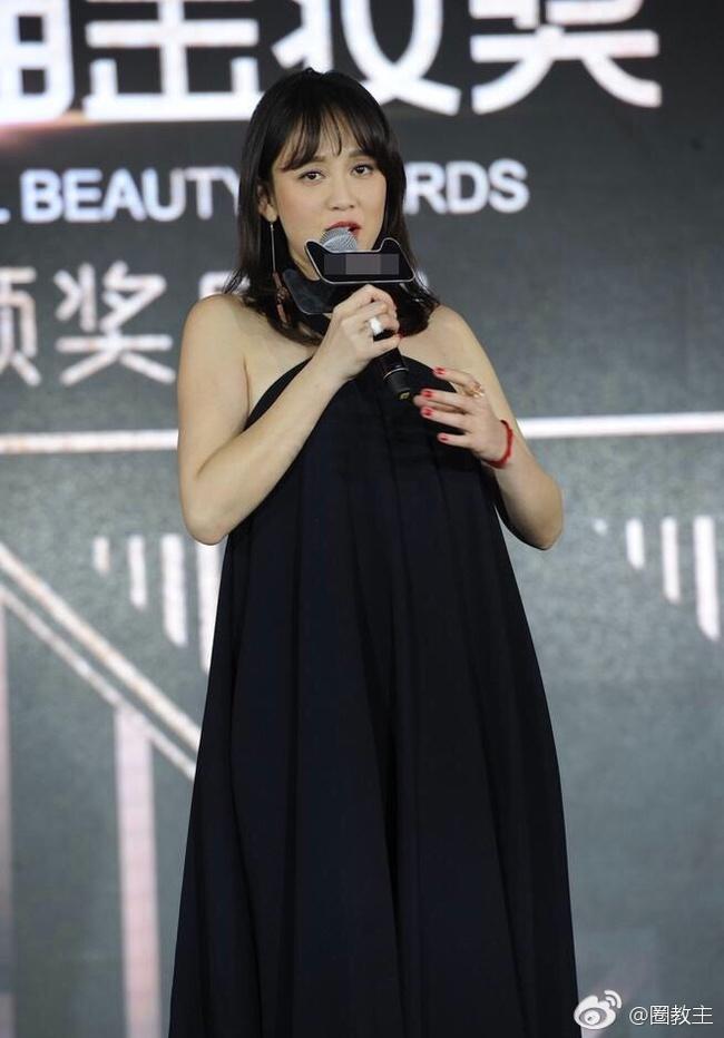 Trần Kiều Ân béo lên trông thấy và bị nhận xét là giống bà bầu - Ảnh 2.