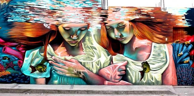 Ngắm nhìn 17 bức tranh tường 3D chân thực khắp nơi trên thế giới - Ảnh 13.