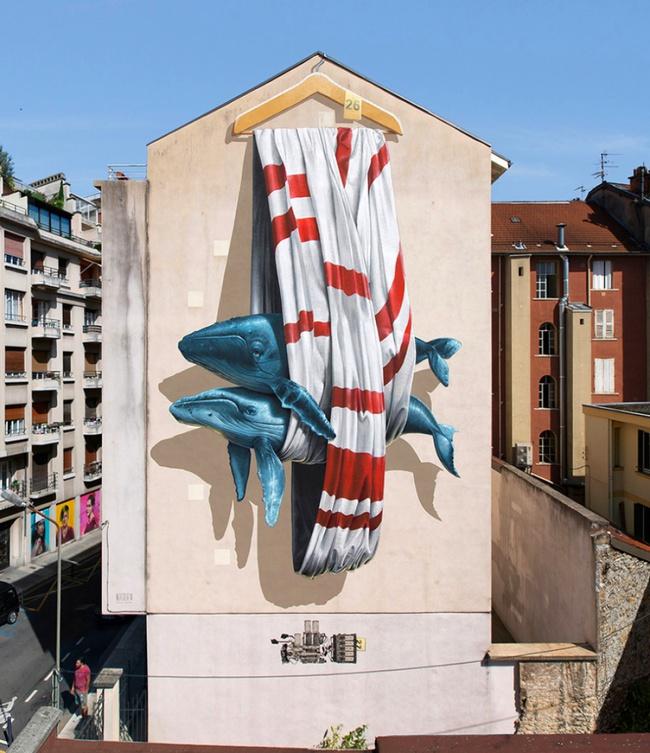 Ngắm nhìn 17 bức tranh tường 3D chân thực khắp nơi trên thế giới - Ảnh 23.