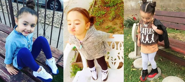 Mới 4 tuổi, cô nhóc này đã sở hữu hàng chục đôi sneakers đình đám khiến người lớn phải kiêng dè - Ảnh 9.