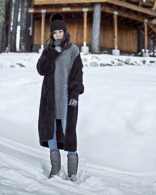 Mải mê ngắm street style ngày lạnh đẹp quên sầu của giới trẻ thế giới - Ảnh 8.