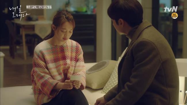 """""""Tomorrow With You"""": Thót tim vì Shin Min Ah tự """"chui đầu vào rọ"""" - Ảnh 9."""