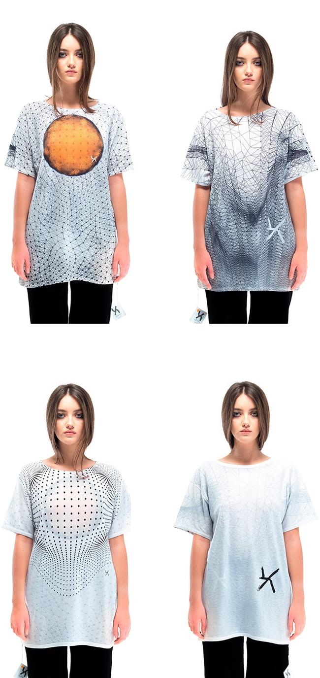 Áo phông biến hình mặc 1 lần đổi 4 kiểu chỉ trong nháy mắt - Ảnh 3.