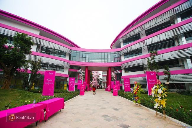 Du học tại chỗ ở Hà Nội tại ngôi trường mới toanh, sang xịn và toàn màu hồng! - ảnh 6