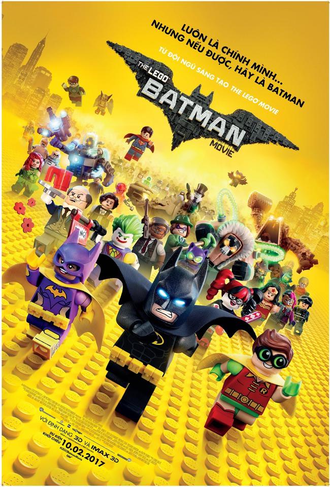 The LEGO Batman Movie - Siêu phẩm đầu năm 2017 - Ảnh 1.