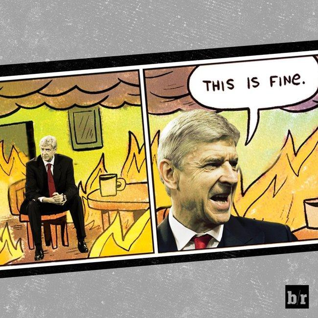 Ảnh chế: Wenger ngồi ghế điện sau trận thua 0-3 của Arsenal - Ảnh 6.