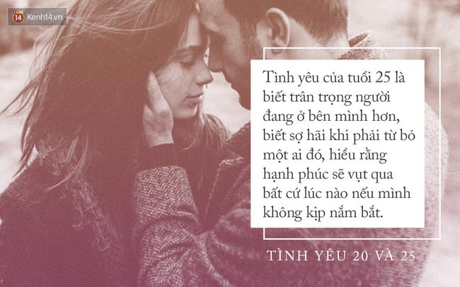 Khi 20 tuổi, tình yêu phải thật nồng nhiệt, nhưng nếu đã 25 bạn sẽ chỉ cần một tình yêu dịu dàng - Ảnh 3.