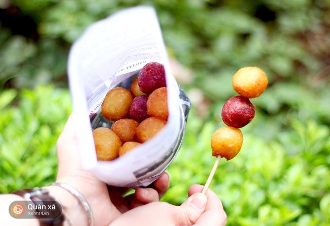 Bánh rán sống ảo chỉ 500 đồng: ăn ngon mà chụp lên ảnh thì đẹp vô đối - Ảnh 8.