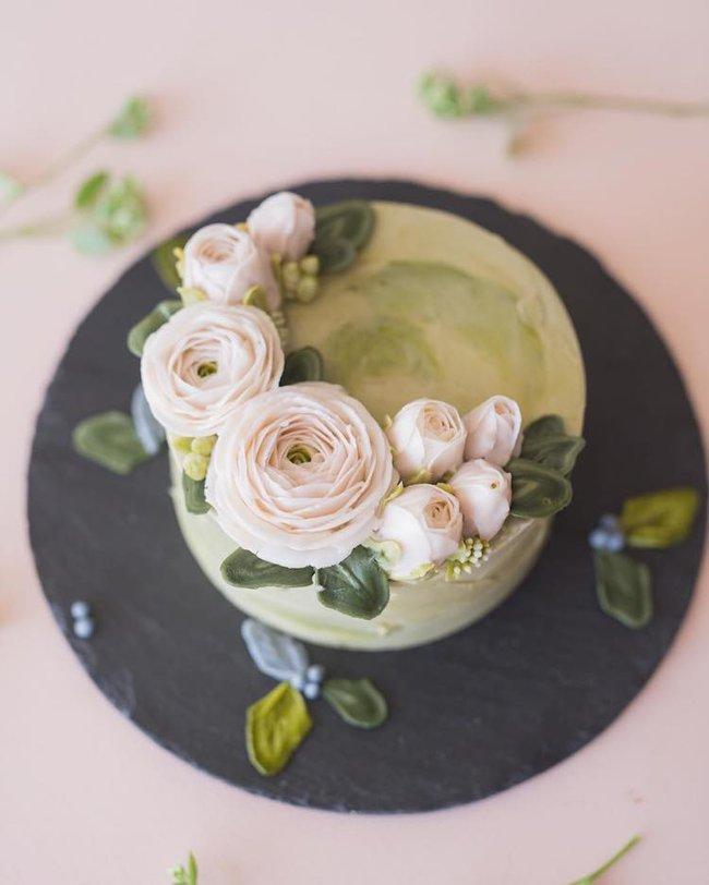 15 chiếc bánh kem hoa cỏ mùa xuân đạt tới đỉnh cao của nghệ thuật nấu nướng - Ảnh 5.