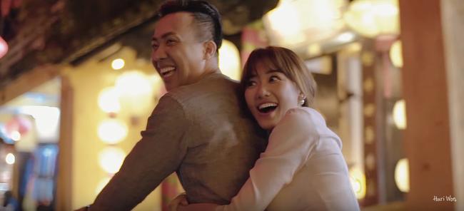Trấn Thành - Hari Won trao nhau nụ hôn không thể lãng mạn hơn trong MV kỉ niệm - Ảnh 3.