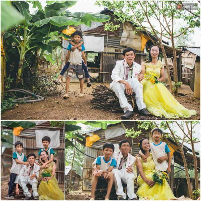 Túp lều lá trên đồi tràm và câu chuyện tình giản dị của hai vợ chồng khuyết tật ở Đồng Nai - Ảnh 1.
