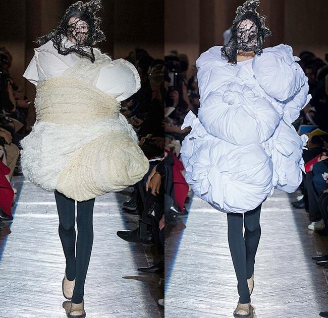 Kỳ lạ: Thiết kế mới nhất của Comme des Garçons giông giống sáng tạo của Đỗ Mạnh Cường - Ảnh 10.