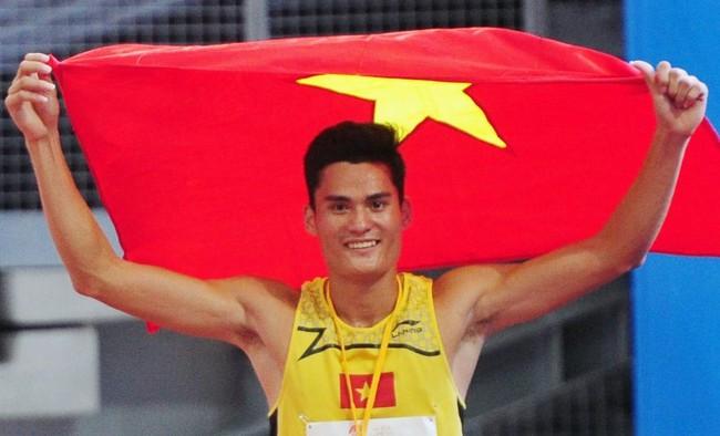 Quách Công Lịch giành HCV điền kinh Grand Prix châu Á - Ảnh 1.