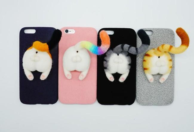 Muốn có một chiếc ốp điện thoại gắn mông thú cute này quá! - Ảnh 1.