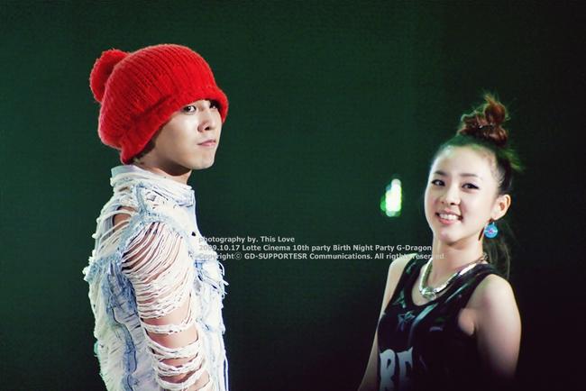 Nhìn G-Dragon và Dara mùi mẫn như thế này, trái tim fangirl làm sao mà không loạn nhịp cho được! - Ảnh 4.