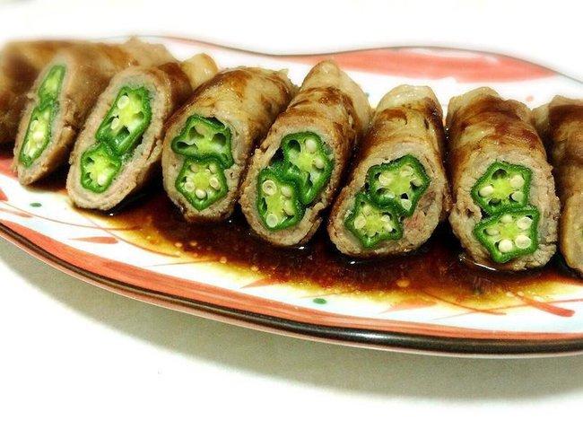 Đậu bắp cuốn thịt - món ăn giản dị và cực kỳ dễ làm dành cho người vụng về - Ảnh 8.