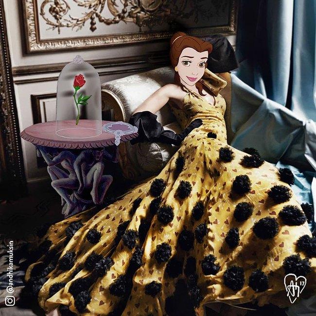 Một ngày theo chân các công chúa, hoàng tử nhà Disney - Ảnh 15.