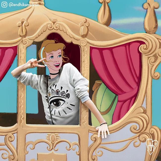 Một ngày theo chân các công chúa, hoàng tử nhà Disney - Ảnh 21.