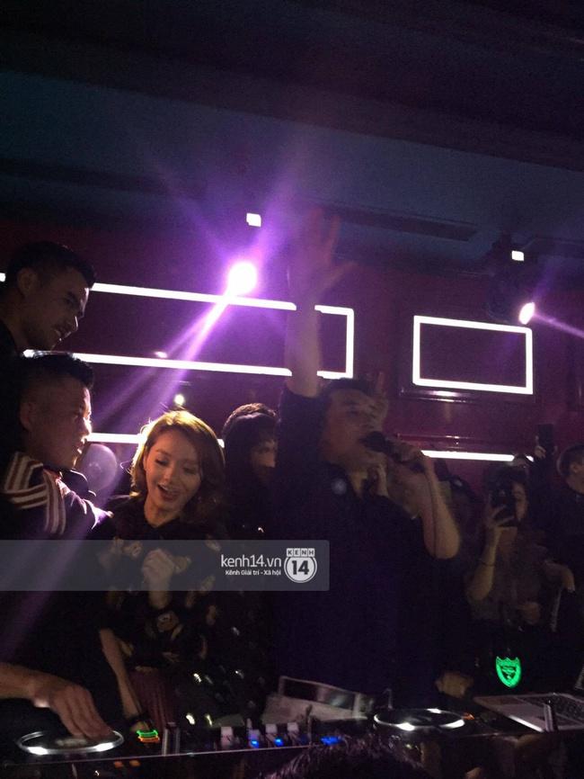VJ kiêm DJ Seungri quẩy hết mình cùng dàn sao Việt tại bar - Ảnh 8.