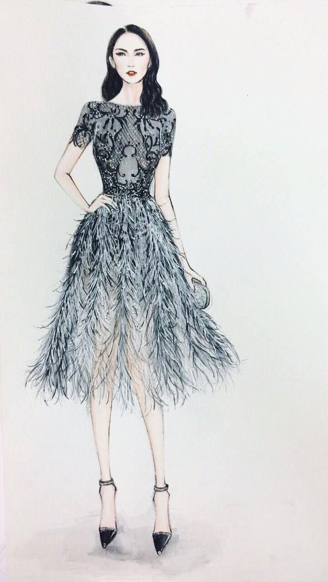 Đỗ Long - NTK ruột của Ngọc Trinh lần đầu lên sàn Vietnam International Fashion Week - Ảnh 4.