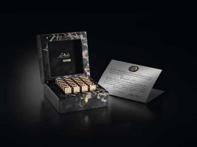 Tưng bừng chơi tết cùng bộ Domino kim cương đắt nhất thế gian - Ảnh 2.