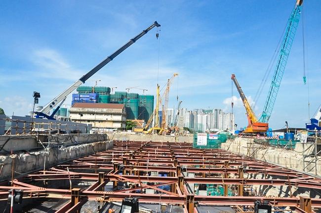 Cận cảnh robot siêu khủng, hiện đại nhất thế giới sẽ đào gần 800m đường hầm cho Metro Sài Gòn - Ảnh 1.