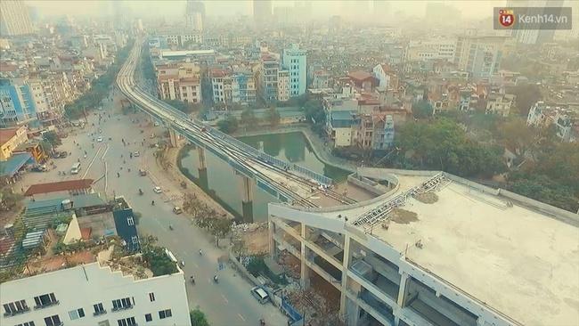 Các nhà ga của tuyến đường sắt Cát Linh - Hà Đông đang dần hoàn thiện, mỗi nhà ga là một màu sắc riêng biệt, nổi bật! - Ảnh 11.