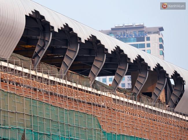 Các nhà ga của tuyến đường sắt Cát Linh - Hà Đông đang dần hoàn thiện, mỗi nhà ga là một màu sắc riêng biệt, nổi bật! - Ảnh 3.