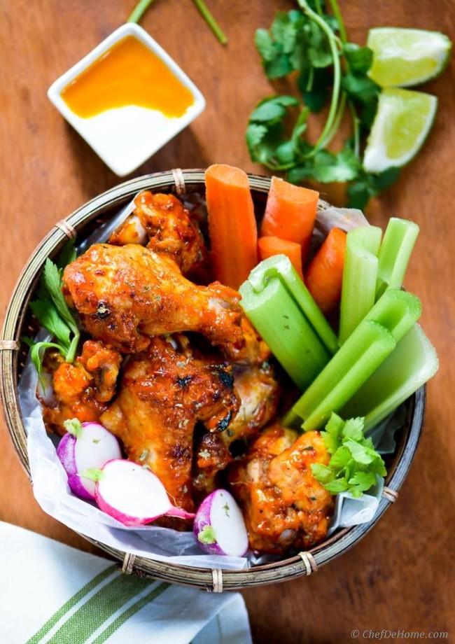 Ai mà tin được, làm sốt với loại quả quen thuộc này lại giúp món cánh gà nướng ngon hơn hẳn - Ảnh 11.