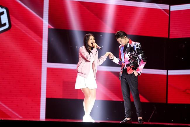 Cô bé 16 tuổi người Hàn hát nhạc Big Bang gây sốt ngay tập đầu Giọng hát Việt! - Ảnh 3.