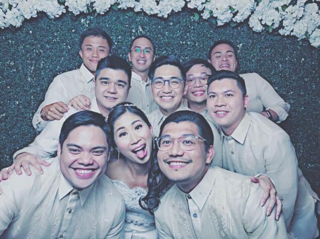 Thêm hình ảnh hiếm hoi bên trong đám cưới hoa lệ, sang chảnh của chị chồng Tăng Thanh Hà - Ảnh 6.