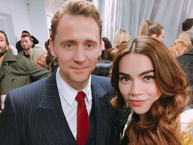HOT: Hồ Ngọc Hà diện đồ sexy giá hàng trăm triệu, vui tươi tạo dáng bên Tom Hiddleston tại show Gucci - Ảnh 4.