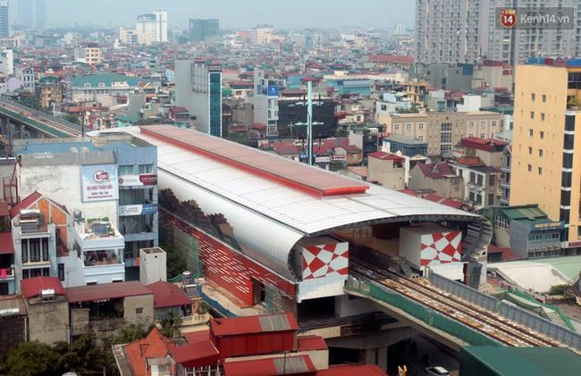 Các nhà ga của tuyến đường sắt Cát Linh - Hà Đông đang dần hoàn thiện, mỗi nhà ga là một màu sắc riêng biệt, nổi bật! - Ảnh 5.