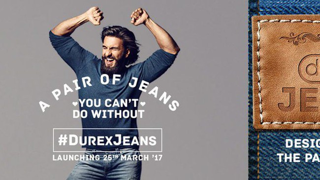 KHÔNG THỂ TIN ĐƯỢC: Hãng bao cao su Durex cũng đã cho ra mắt quần jeans! - Ảnh 1.