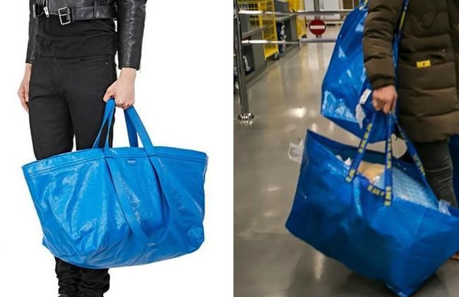 Thấy Balenciaga bán túi 50 triệu y chang túi 22 nghìn của mình, IKEA đã có màn đáp trả chất như thế này đây! - Ảnh 1.