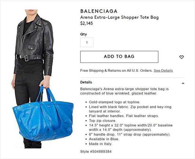 Thấy Balenciaga bán túi 50 triệu y chang túi 22 nghìn của mình, IKEA đã có màn đáp trả chất như thế này đây! - Ảnh 4.