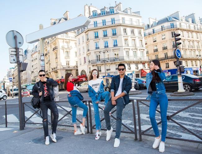 Ngọc Trinh khoe vẻ đẹp năng động, tươi vui hết cỡ trên đường phố Paris - Ảnh 14.