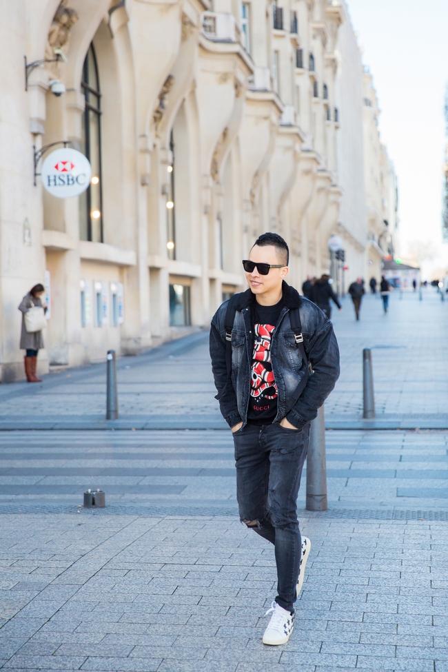 Ngọc Trinh khoe vẻ đẹp năng động, tươi vui hết cỡ trên đường phố Paris - Ảnh 7.