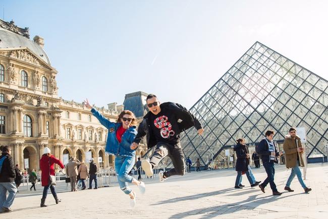 Ngọc Trinh khoe vẻ đẹp năng động, tươi vui hết cỡ trên đường phố Paris - Ảnh 16.