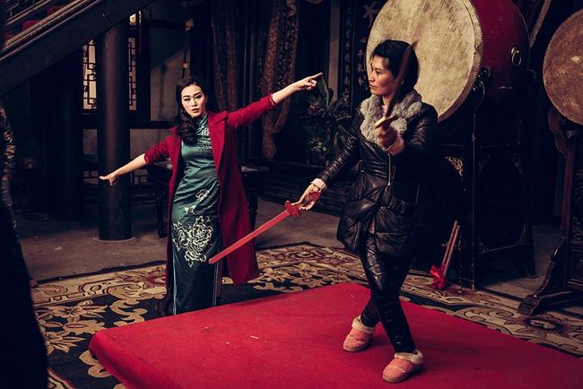 Khánh My hóa trang, hát kinh kịch như đúng rồi trong phim điện ảnh Hoa ngữ - Ảnh 5.