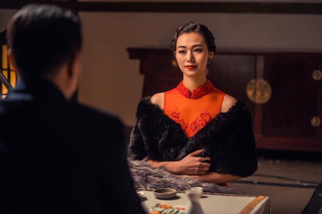 Khánh My hóa trang, hát kinh kịch như đúng rồi trong phim điện ảnh Hoa ngữ - Ảnh 12.