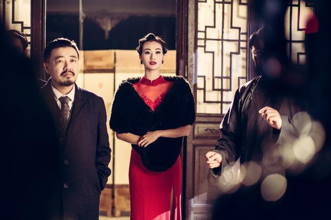 Khánh My hóa trang, hát kinh kịch như đúng rồi trong phim điện ảnh Hoa ngữ - Ảnh 11.