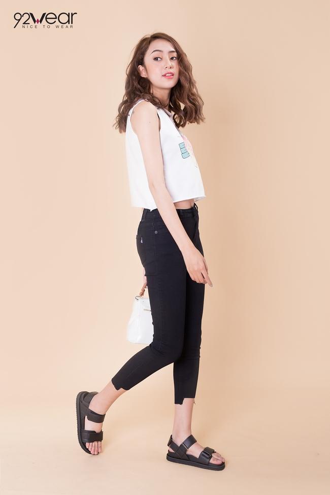 5 mẫu quần jeans sẵn sàng phá đảo mùa hè của các teen girl - Ảnh 3.