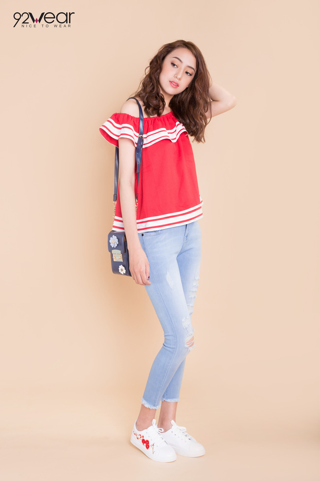 5 mẫu quần jeans sẵn sàng phá đảo mùa hè của các teen girl - Ảnh 4.