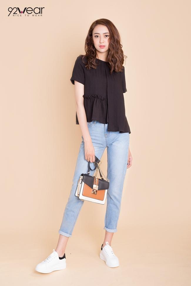 5 mẫu quần jeans sẵn sàng phá đảo mùa hè của các teen girl - Ảnh 6.