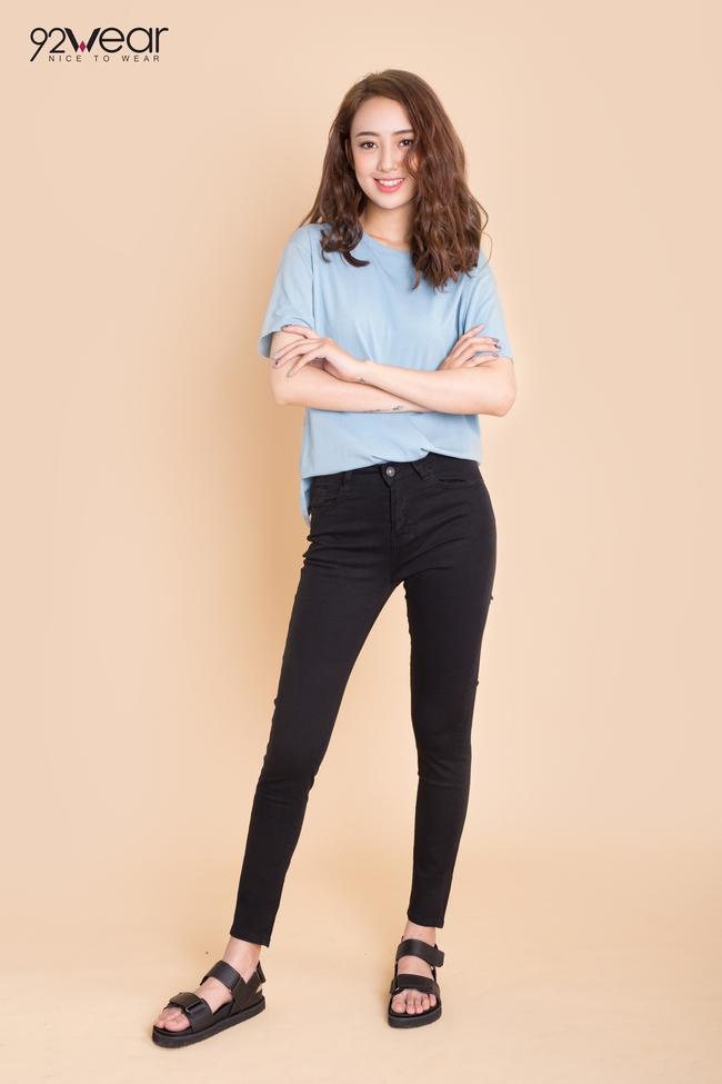 5 mẫu quần jeans sẵn sàng phá đảo mùa hè của các teen girl - Ảnh 9.