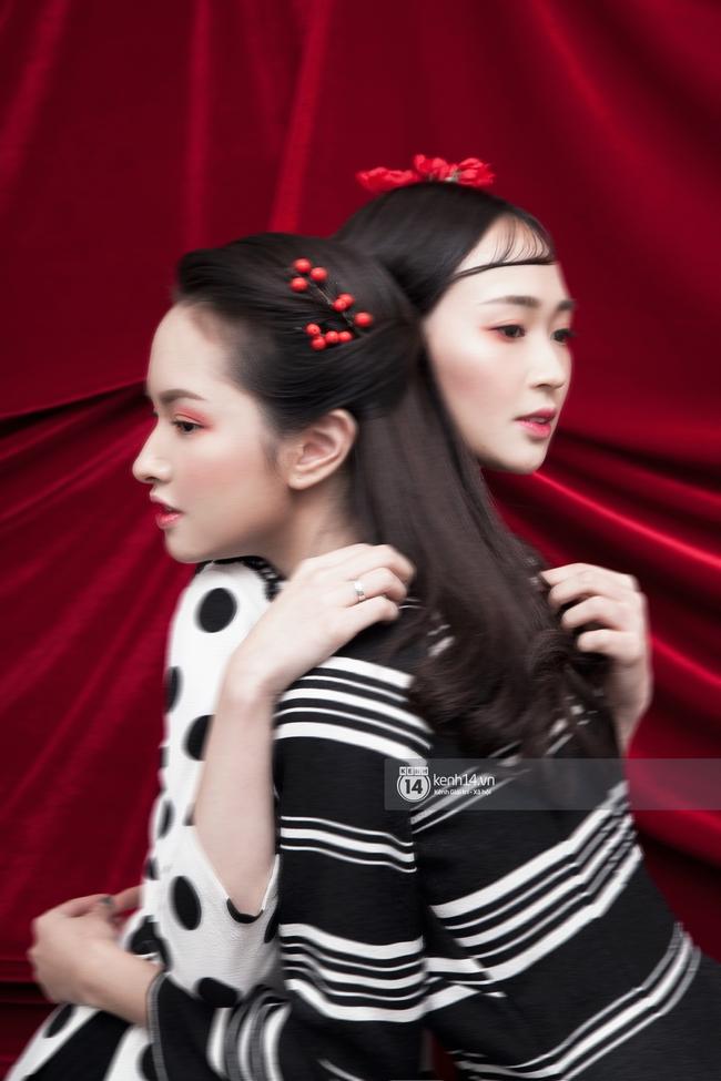 3 nàng hot girl Salim, Sun HT, Lê Vi xinh lạ trong những mẫu áo dài cách tân độc đáo - Ảnh 7.
