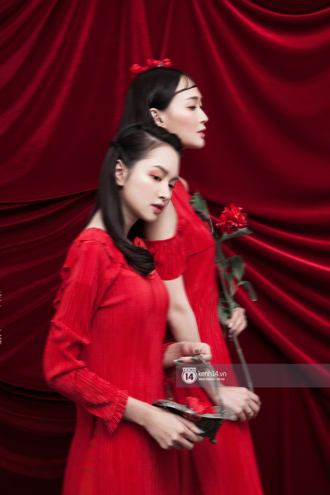 3 nàng hot girl Salim, Sun HT, Lê Vi xinh lạ trong những mẫu áo dài cách tân độc đáo - Ảnh 12.